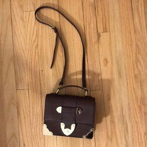 Henri Bendel NWOT maroon purse